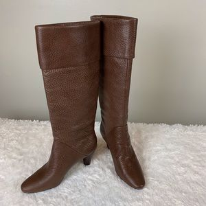 Tamara Gentry brown leather boots/ size 6 1/2 M